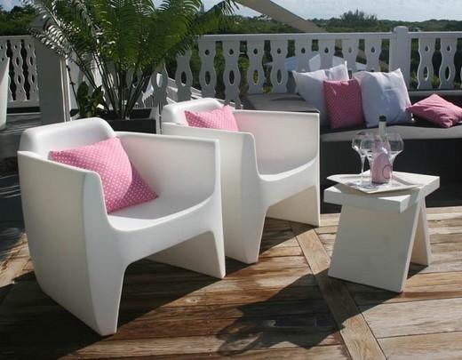 Salon de jardin plastique design - Mailleraye.fr jardin