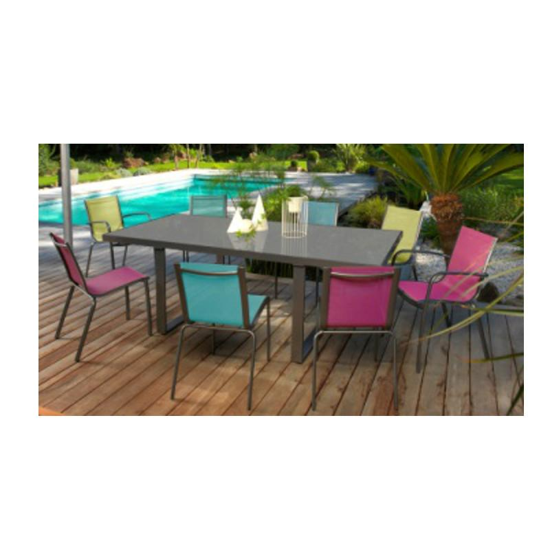 Emejing Chaise De Salon De Jardin En Couleur Ideas - House Design ...