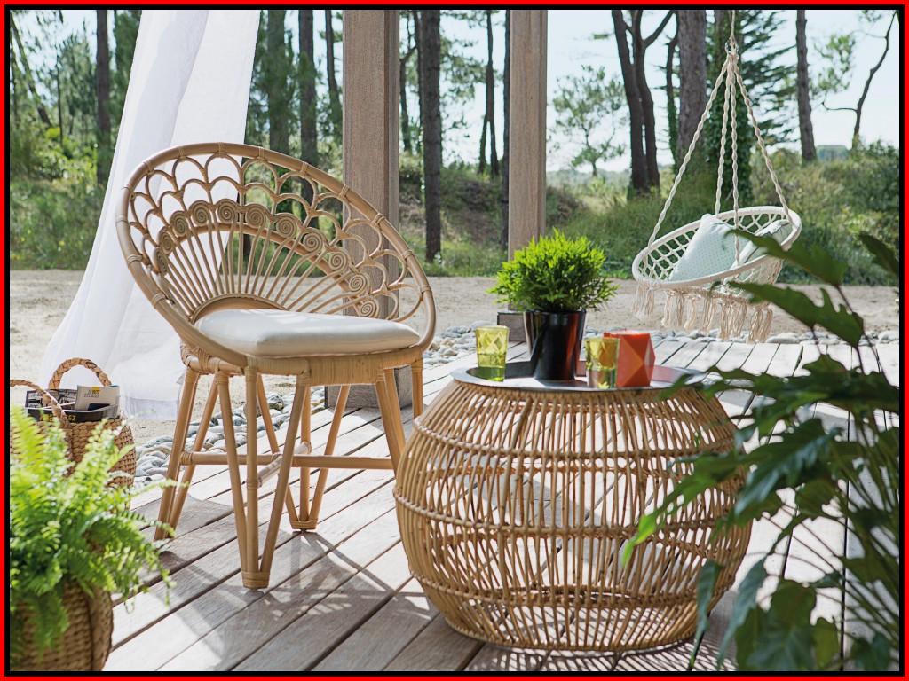 Salon de jardin pagode bambou - Mailleraye.fr jardin