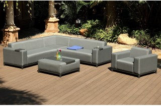 Salon de jardin couleur sable - Mailleraye.fr jardin