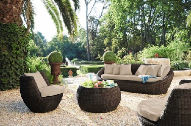 Salon de jardin résine tressée maison du monde - Mailleraye ...