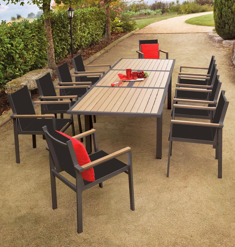 Best Table De Jardin En Bois Intermarche Contemporary - House Design ...