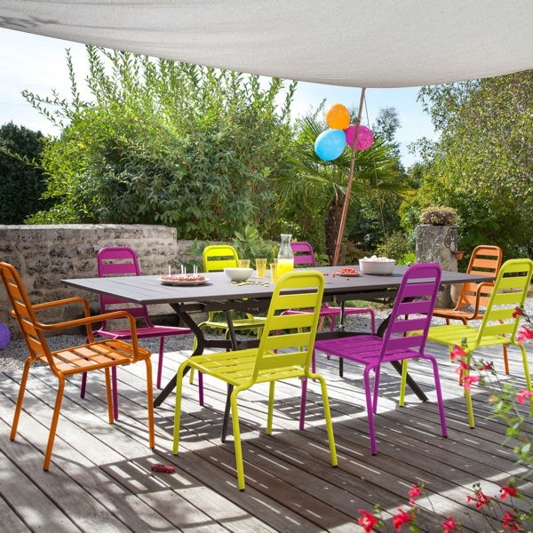 Idee couleur salon de jardin
