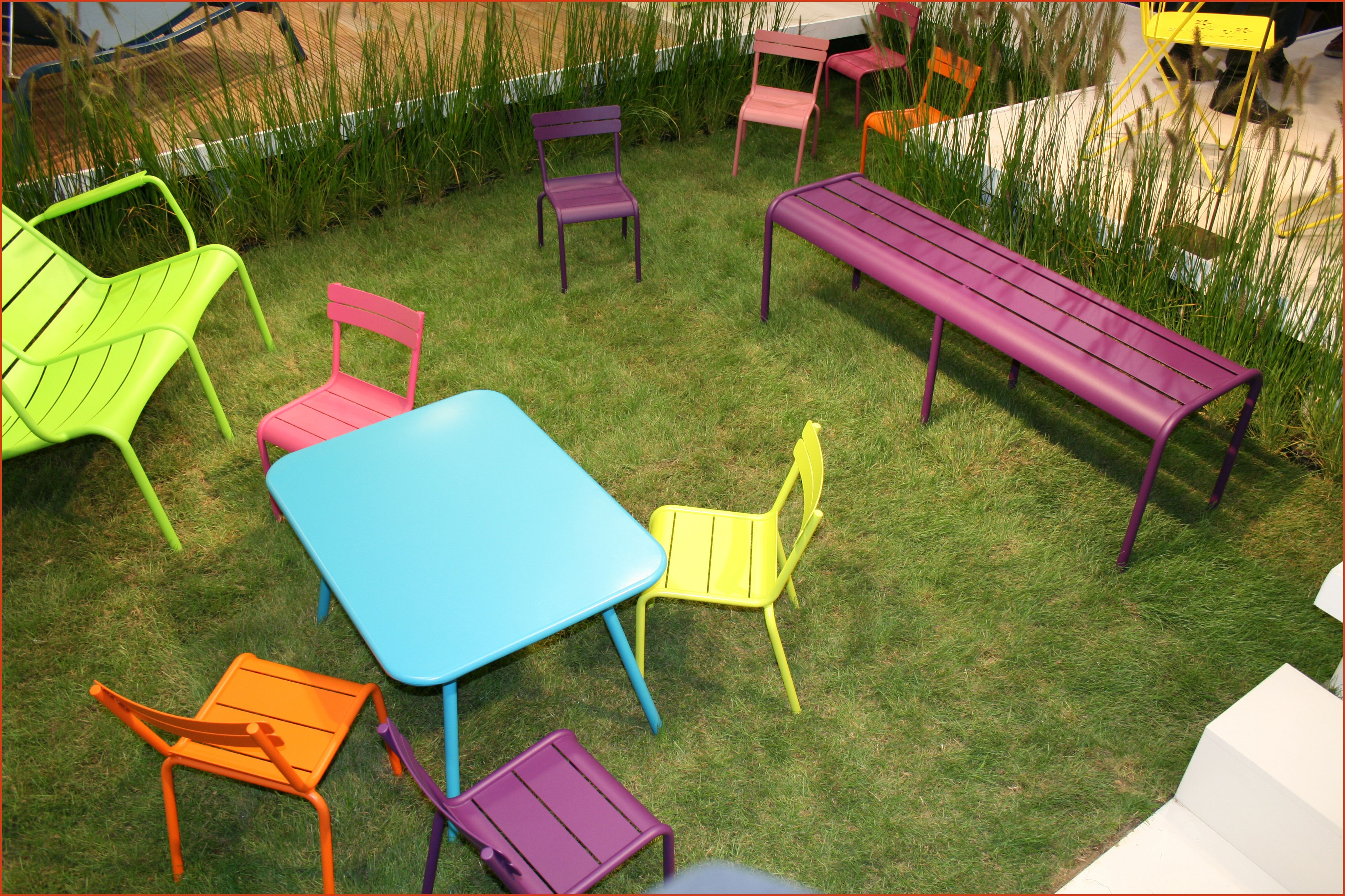 Salon de jardin couleur pas cher - Mailleraye.fr jardin