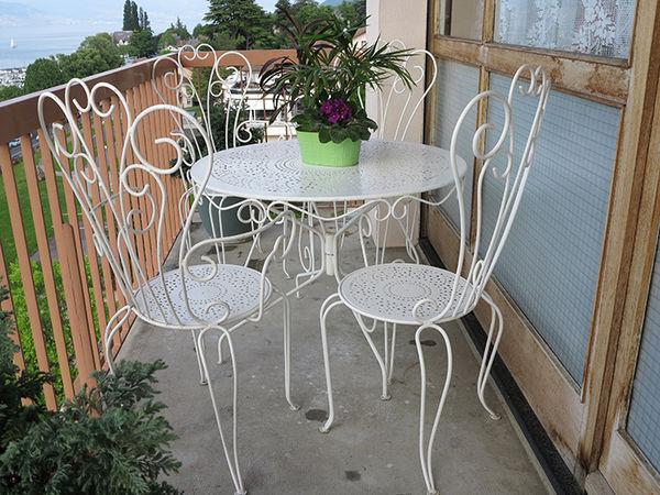 Salon de jardin d\'occasion en fer forgé - Mailleraye.fr jardin
