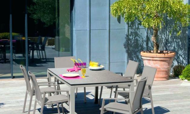 Table salon de jardin gamm vert - Mailleraye.fr jardin