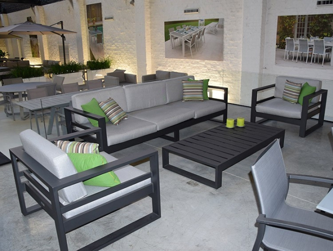 Mobilier de jardin haut de gamme aluminium - Mailleraye.fr jardin