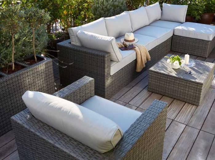 Stunning Mini Salon De Jardin Castorama Images - House ...