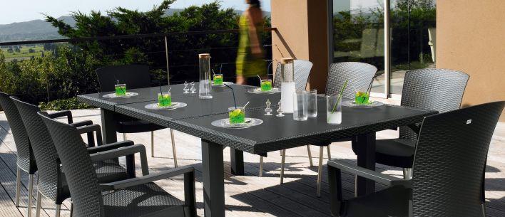 Salon de jardin ineo 240 grosfillex - Mailleraye.fr jardin
