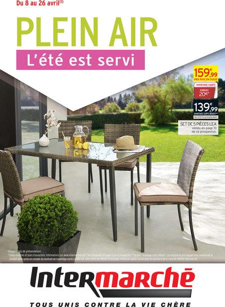 Salon de jardin intermarché 2016 - Mailleraye.fr jardin