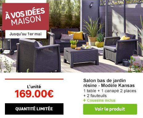 Salon de jardin couleur leroy merlin - Mailleraye.fr jardin