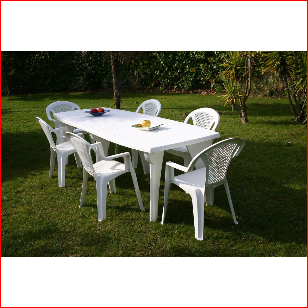 Salon de jardin plastique en solde - Mailleraye.fr jardin