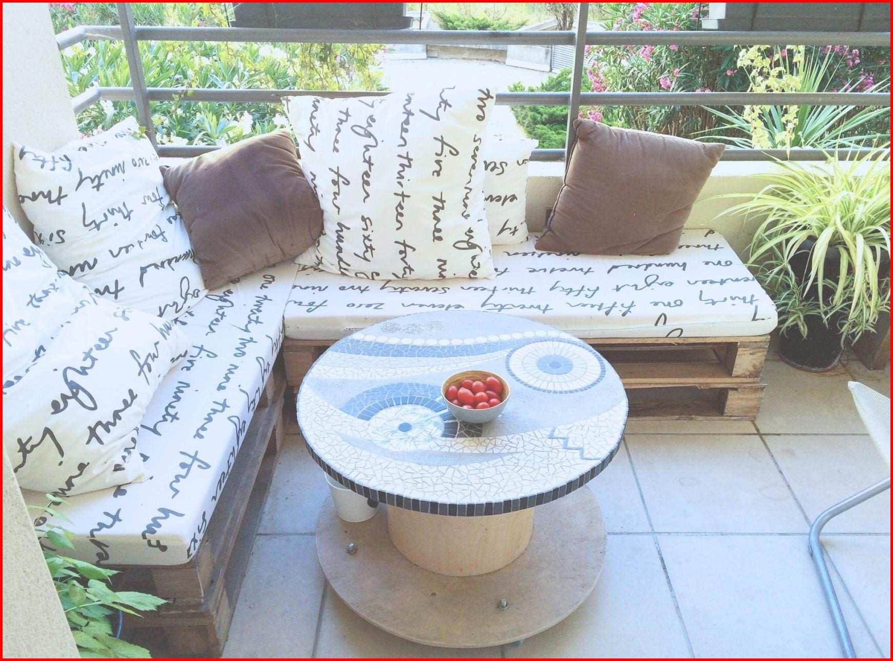 Petit salon de jardin pour petit balcon - Mailleraye.fr jardin
