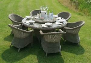 Salon de jardin table ronde resine - Mailleraye.fr jardin