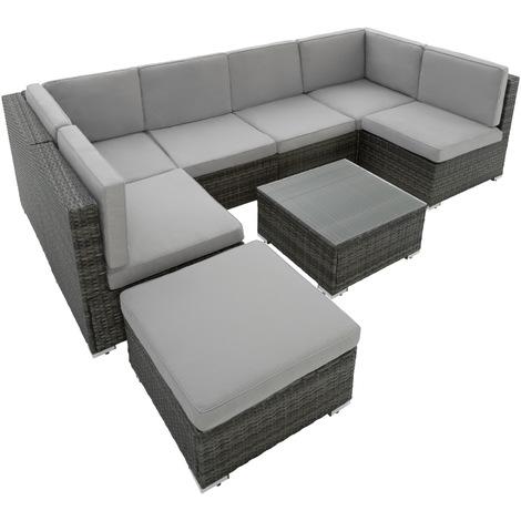 Salon de jardin gris design