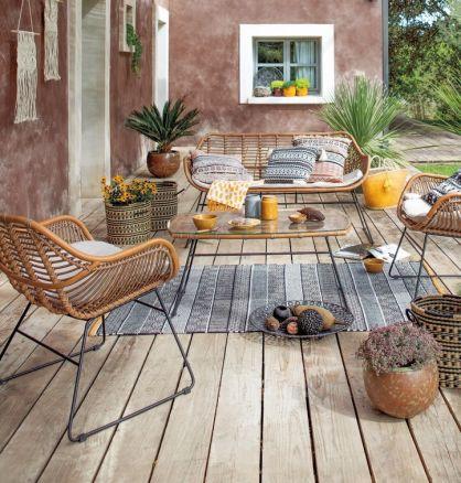 Jardiland salon de jardin en resine