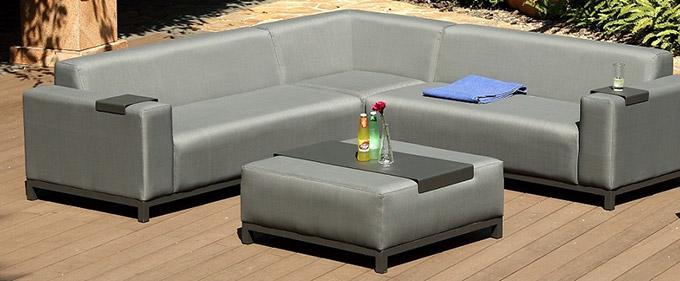 salon de jardin design contemporain jardin. Black Bedroom Furniture Sets. Home Design Ideas