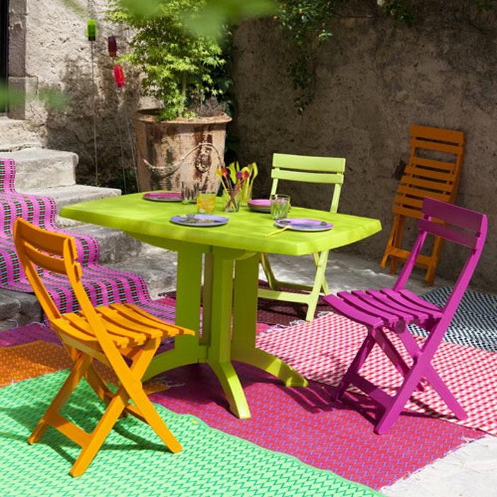 Salon de jardin grosfillex bleu - Mailleraye.fr jardin