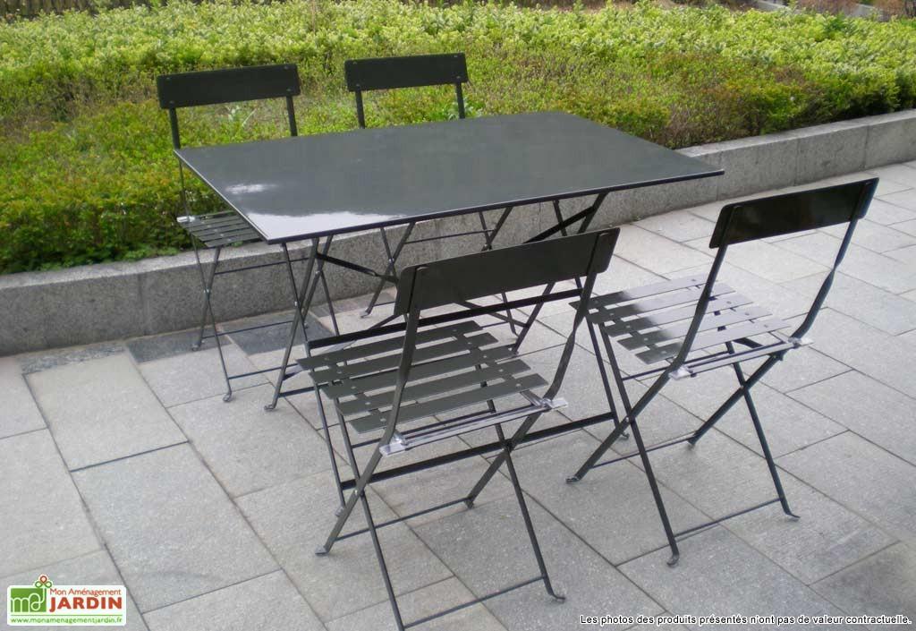 Best Table De Jardin Metallique Pliante Images - House ...