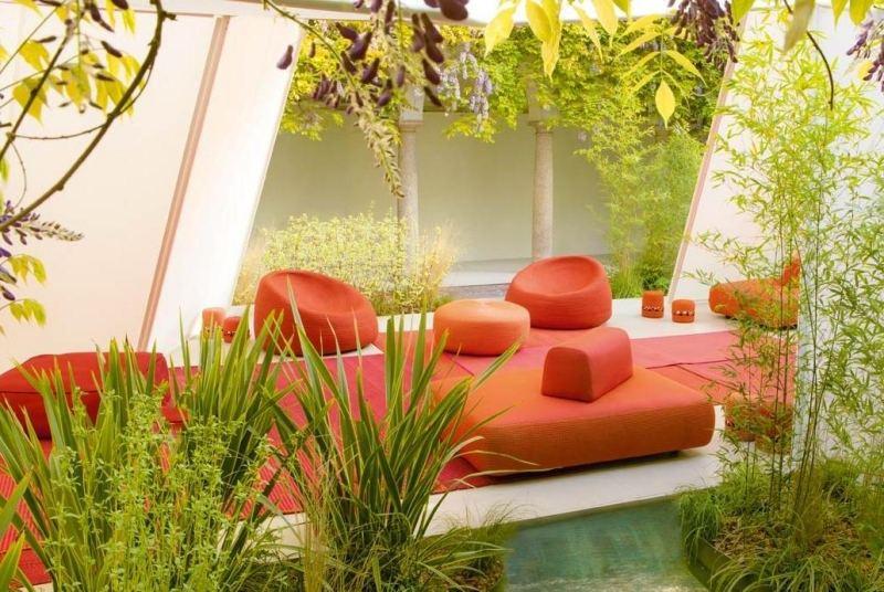 Salon de jardin style oriental