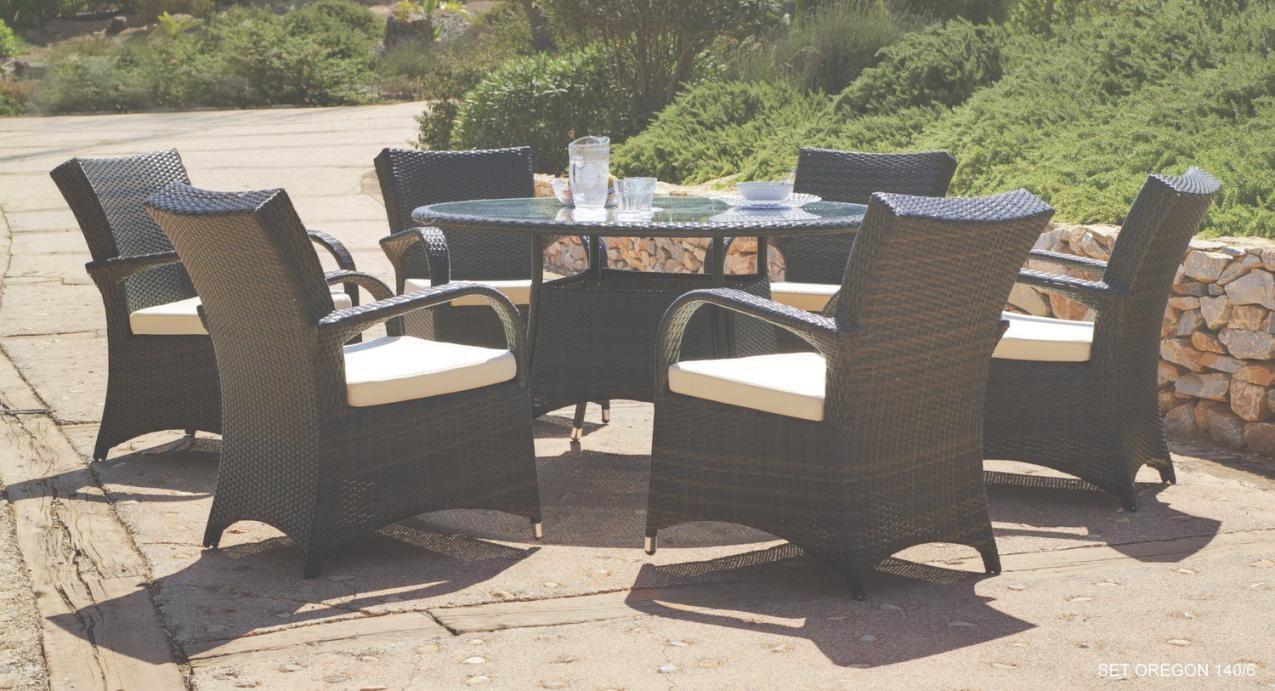 Salon De Jardin Table Ronde Resine Tressee