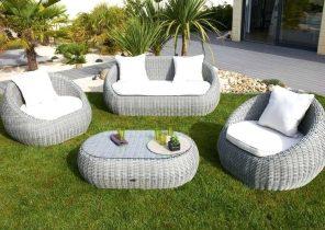 Salon de jardin plastique moderne - Mailleraye.fr jardin