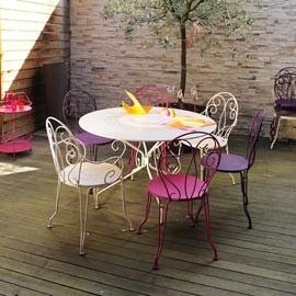 Salon de jardin bistro couleur