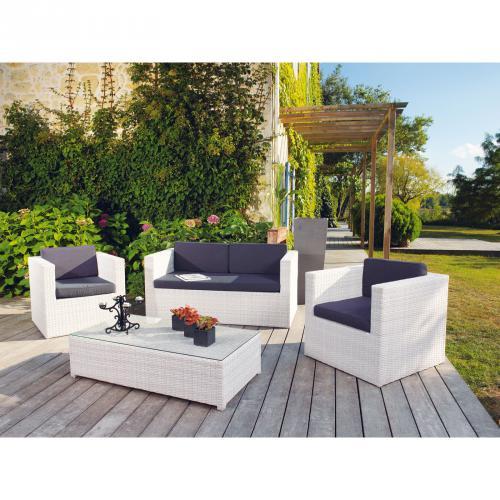 Salon de jardin en resine bricorama - Mailleraye.fr jardin