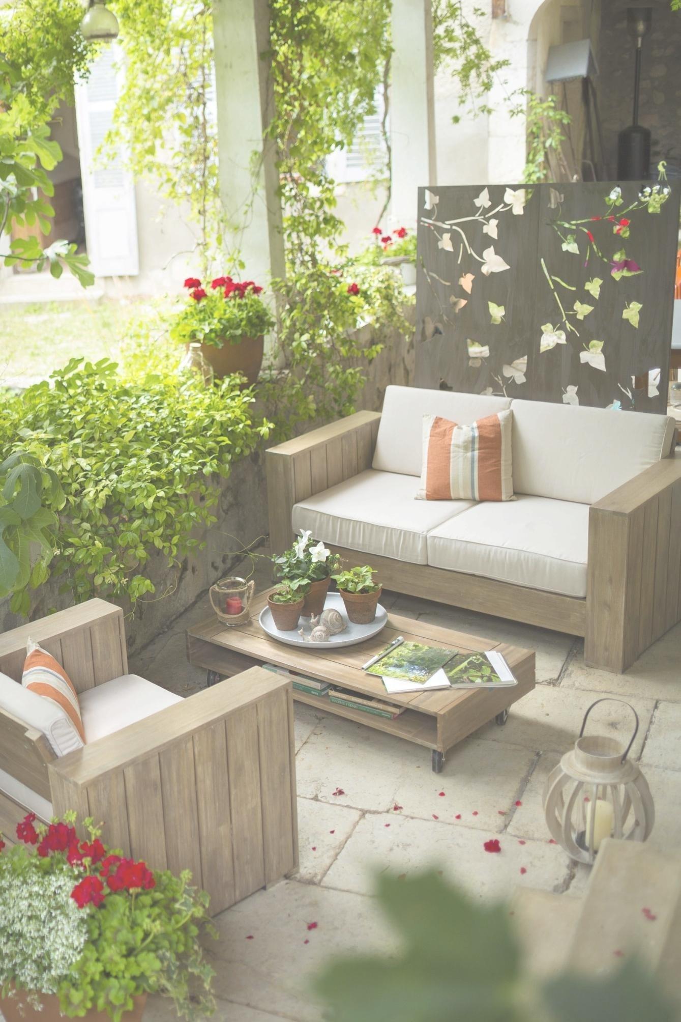 Salon de jardin en teck botanic - Mailleraye.fr jardin