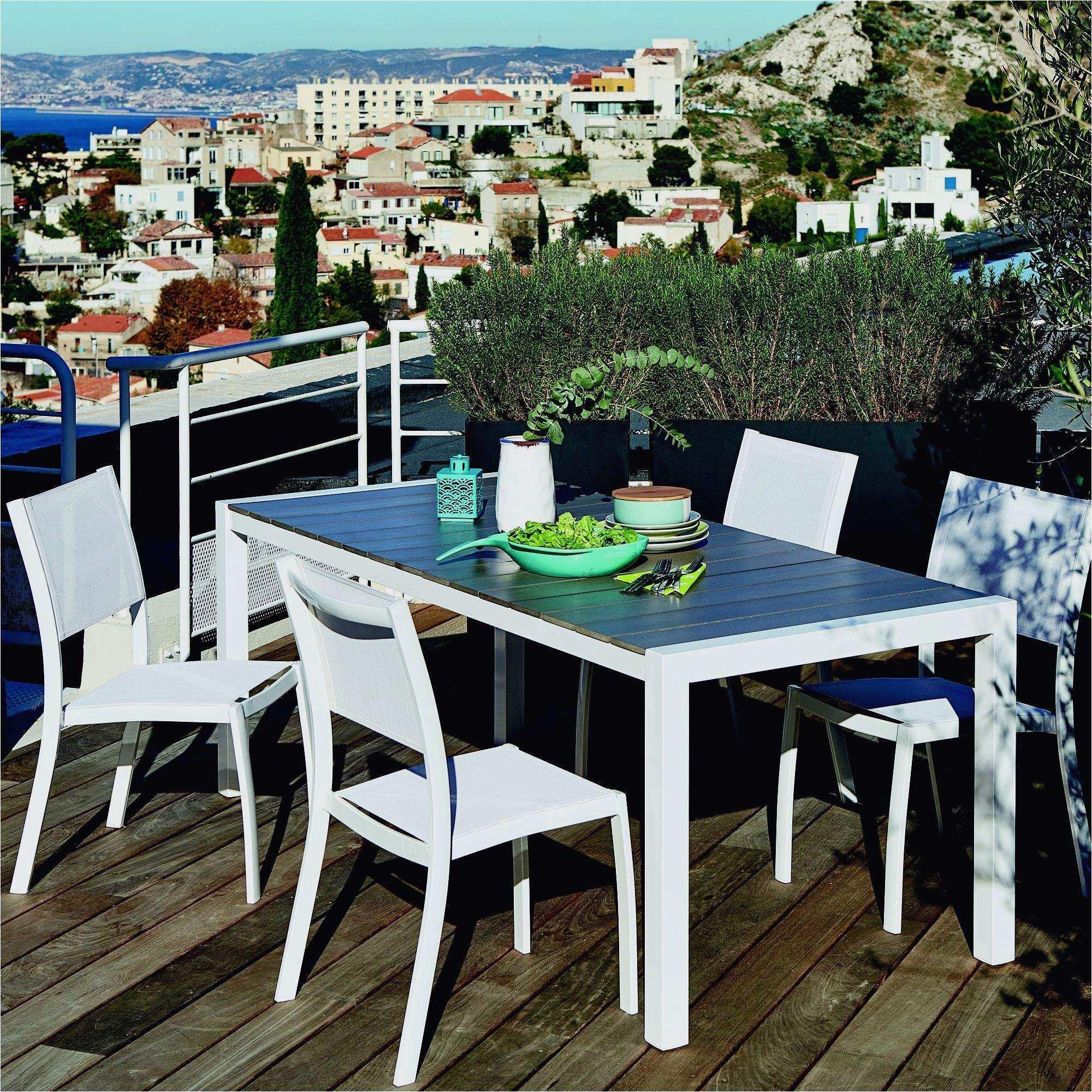 Table salon de jardin centrakor