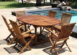 Table de salon de jardin extensible - Mailleraye.fr jardin
