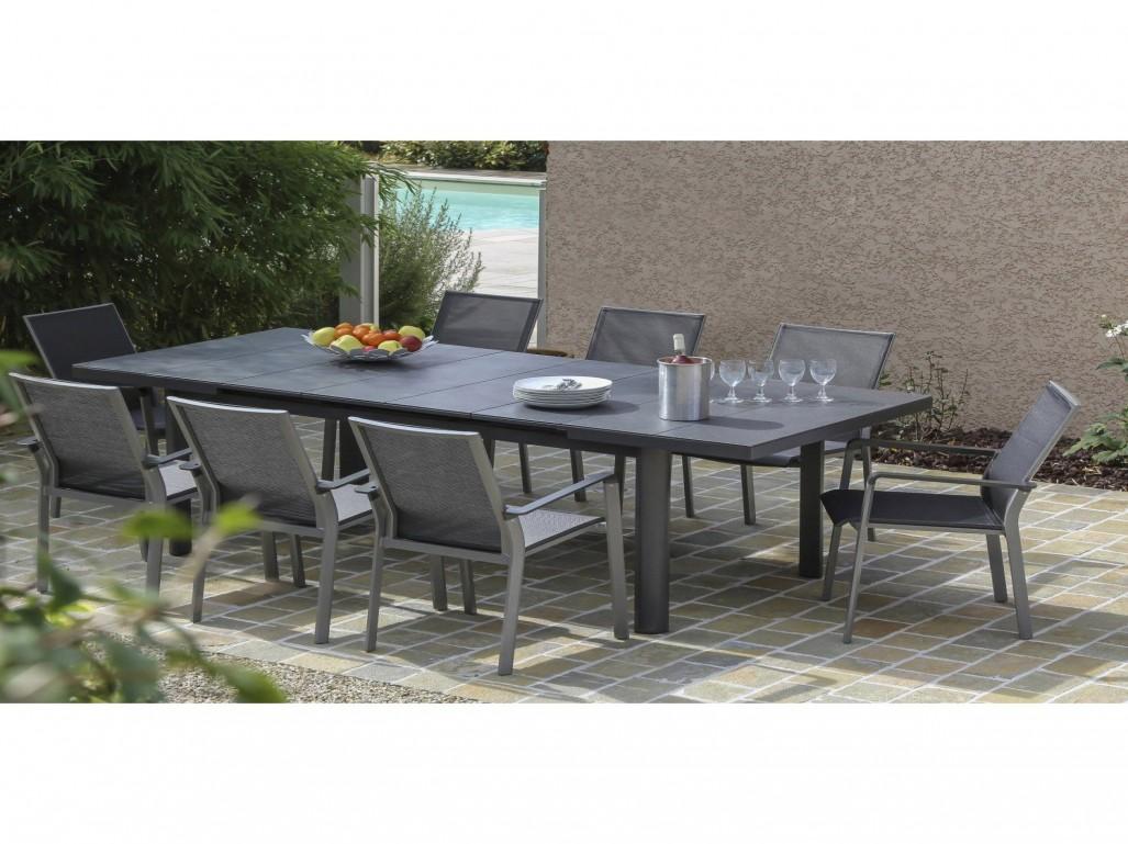 Salon de jardin table ronde leroy merlin - Mailleraye.fr jardin
