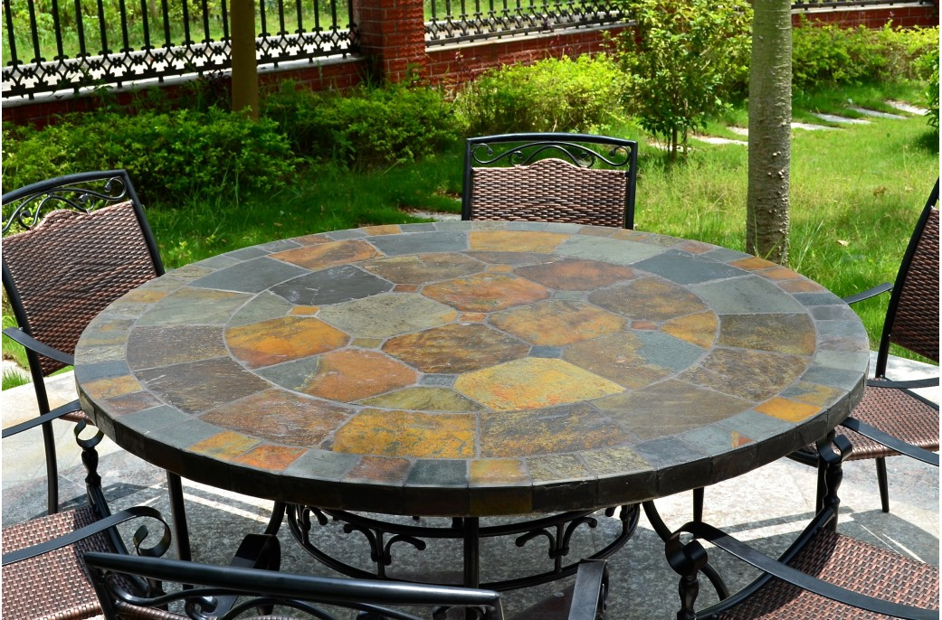 Awesome Table Jardin Mosaique Lyon Pictures - House Design ...