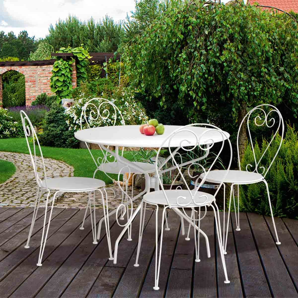 Stunning Salon De Jardin Table Ronde Blanche Contemporary ...