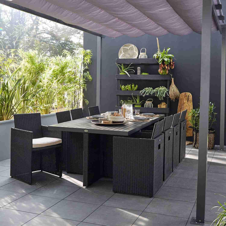 Salon de jardin tres design - Mailleraye.fr jardin