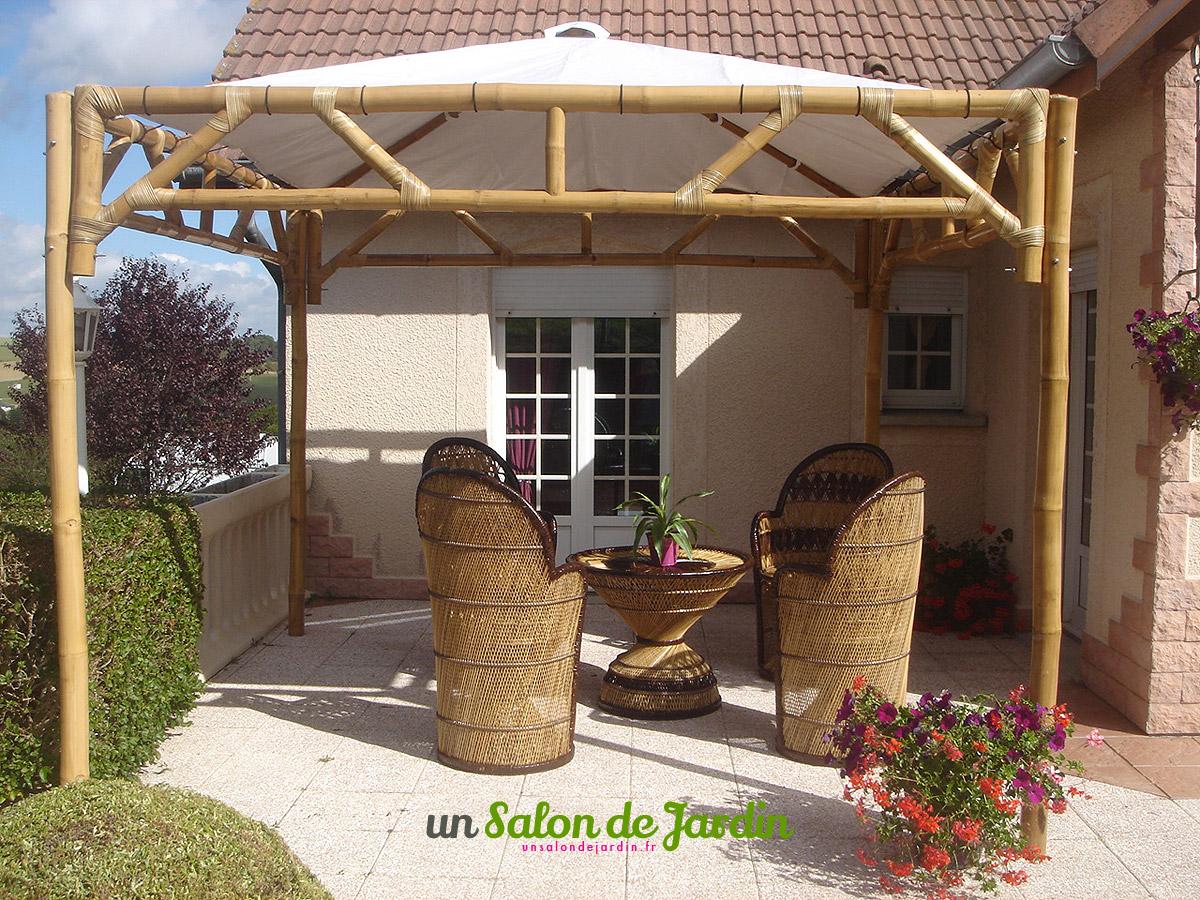 Nettoyer un salon de jardin en bambou