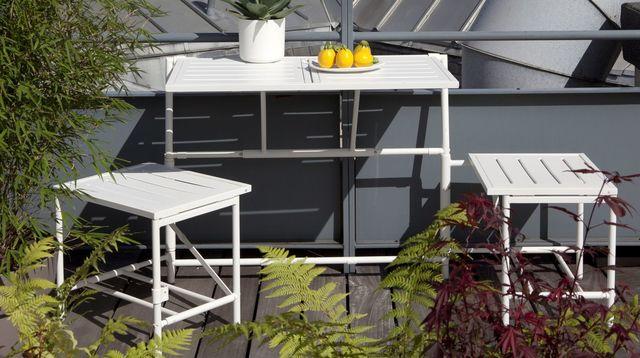 Mini salon de jardin pour balcon jardin - Salon de jardin special balcon ...