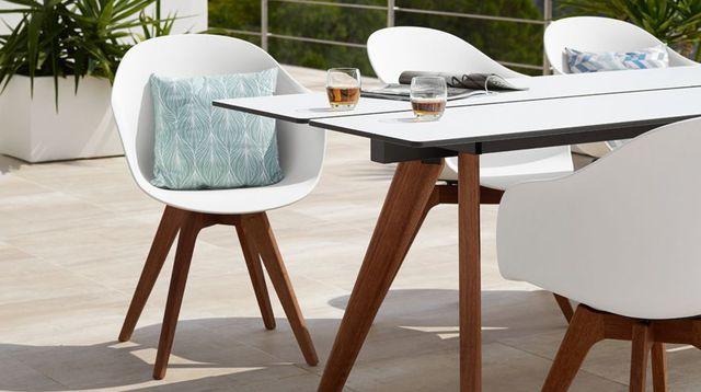 Chaise de salon de jardin design - Mailleraye.fr jardin