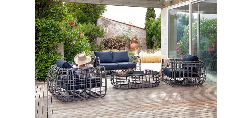 Salon de jardin detente design - Mailleraye.fr jardin