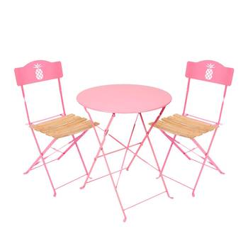 Salon de jardin table et 2 chaises - Mailleraye.fr jardin
