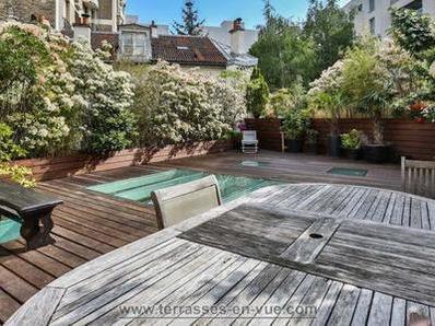 Terrasse et jardin paris 16