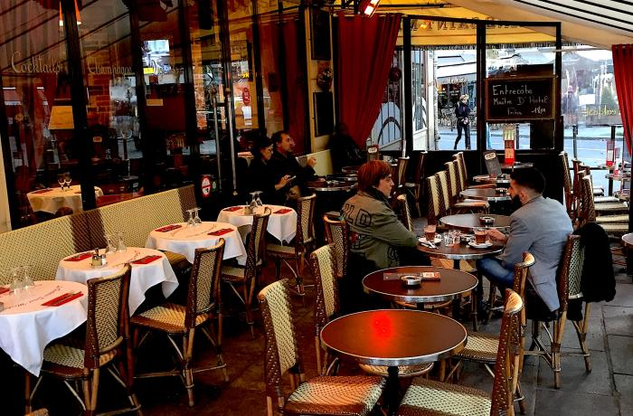 Bar terrasse saint michel