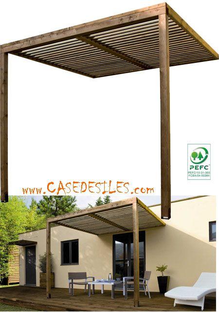 Carport terrasse bois prix