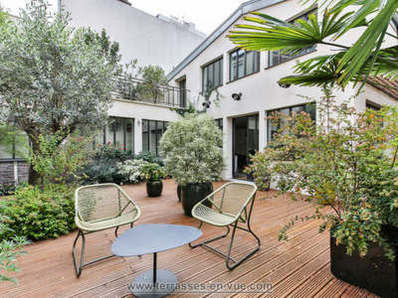 Terrasse et jardin vente paris