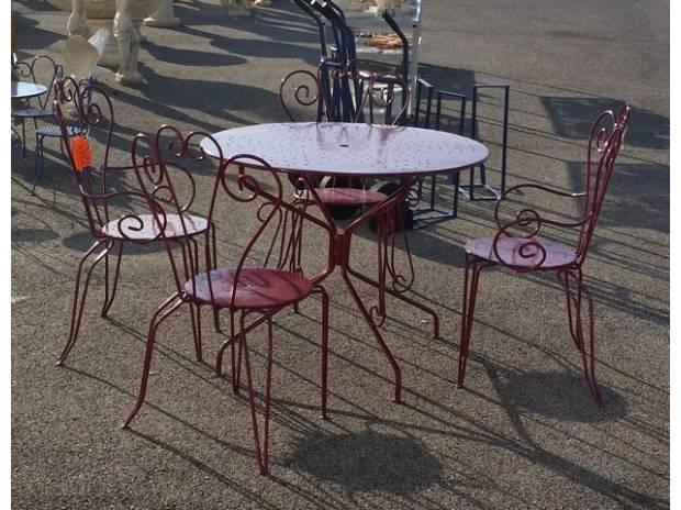 Salon de jardin fer forgé occasion belgique