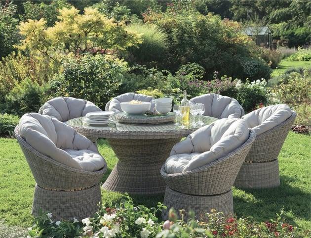 Salon de jardin en aluminium truffaut - Mailleraye.fr jardin