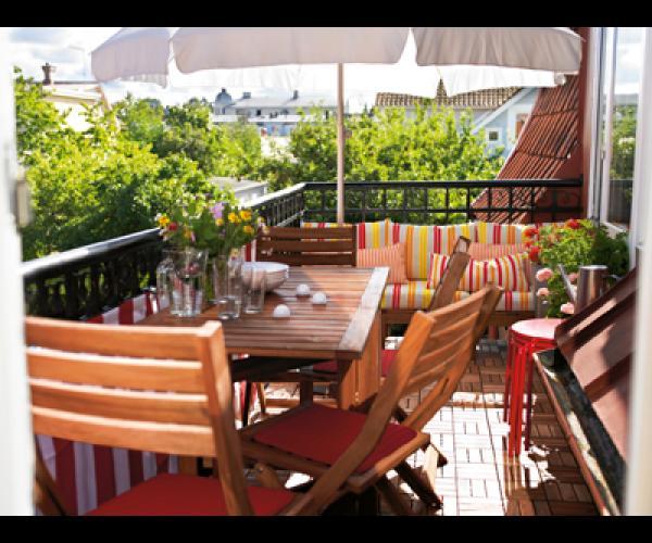 Terrasse jardin ikea