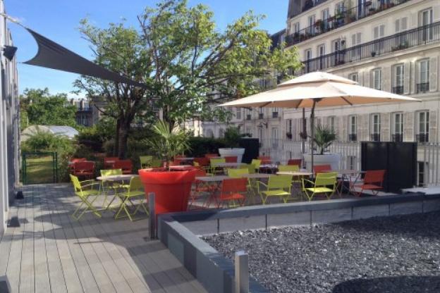 Nouvelle terrasse paris 12