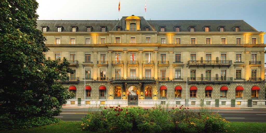 Terrasse hotel metropole geneve