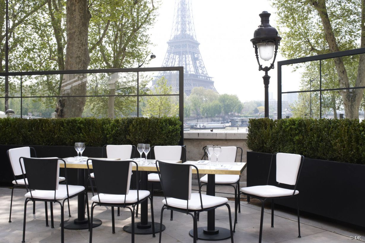 Restaurant terrasse paris belle vue